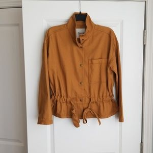 Madewell Southlake Military Jacket in Dark Sahara